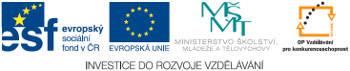 Logo evropské fondy